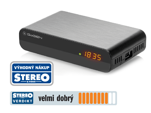 Stereo & Video doporučuje set-top box GoGEN